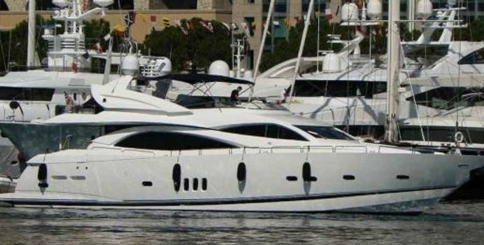 Pearl  charter yacht exterior designed by Don Shead Yacht Design