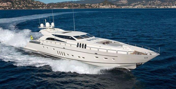 Eol B yacht charter Leopard Motor Yacht