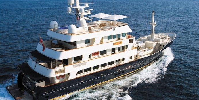 Big Aron Yacht Charter in St Tropez