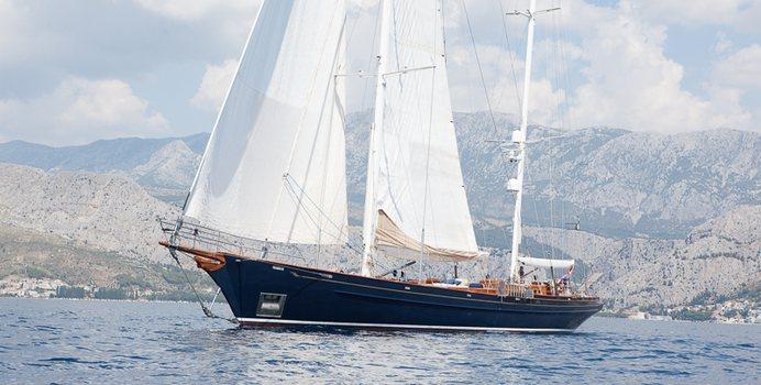 Lauran yacht charter Heli Yachts Sail Yacht