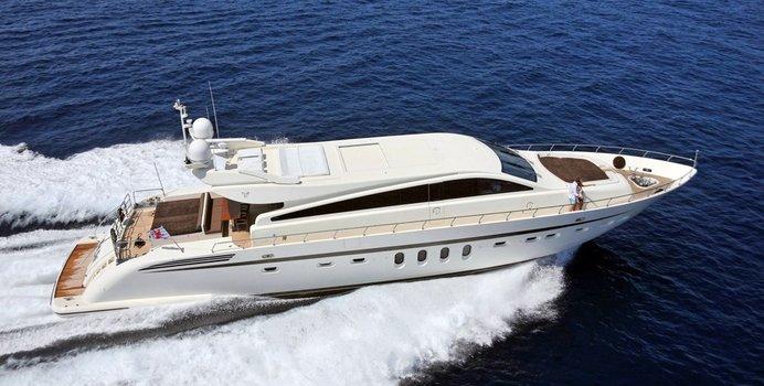 Eclat yacht charter Leopard Motor Yacht