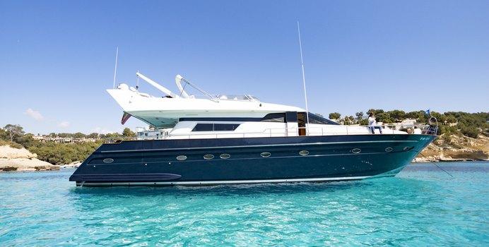 Furia Sexto yacht charter Astondoa Motor Yacht