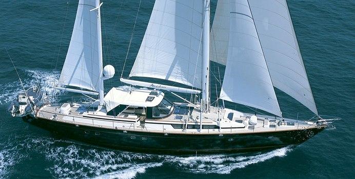 Persistence yacht charter CIM Sail Yacht