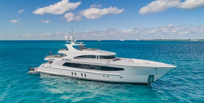 Big Sky yacht charter Oceanfast Motor Yacht
