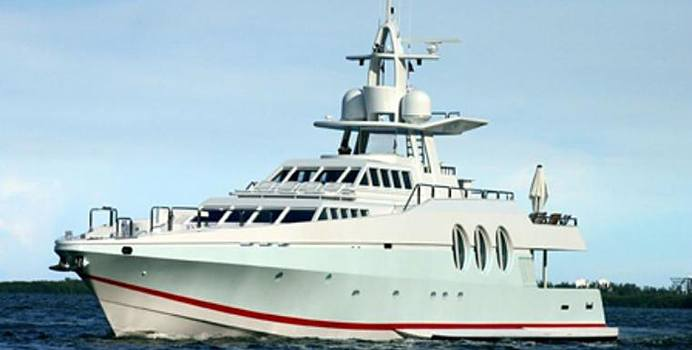 Never Say Never charter yacht exterior designed by Bannenberg & Rowell