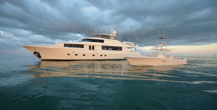 Lady Gray yacht charter Westport Yachts Motor Yacht