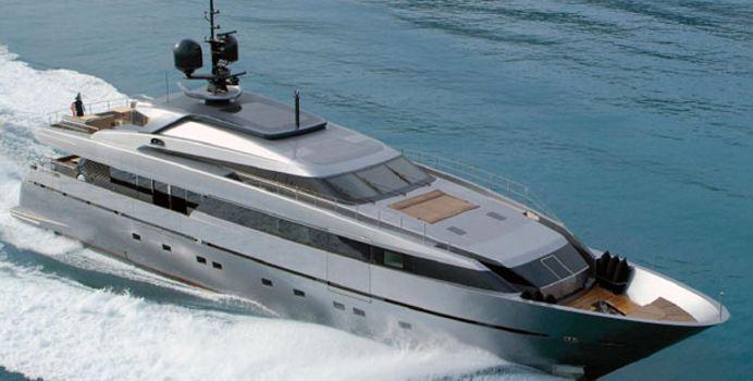 Tesoro yacht charter Sanlorenzo Motor Yacht