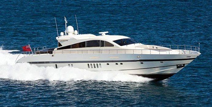 Churri yacht charter Leopard Motor Yacht