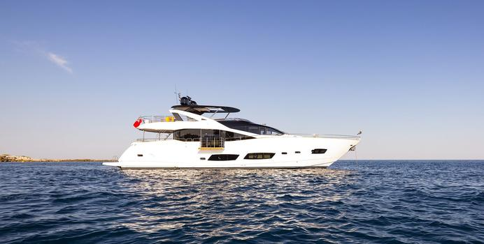 Ultraviolet yacht charter Sunseeker Motor Yacht