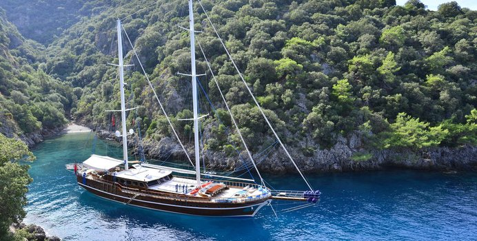 Lycian Queen Yacht Charter in Lastovo Island