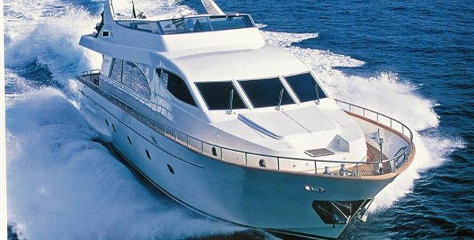 Amorina yacht charter Falcon Motor Yacht