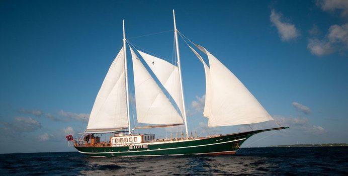Dream Voyager yacht charter Custom Sail Yacht