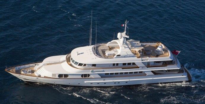 Azul V yacht charter CRN Motor Yacht