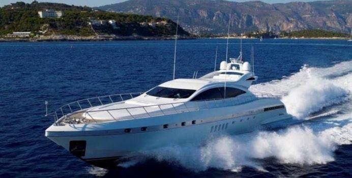 L Esperance yacht charter Overmarine Motor Yacht