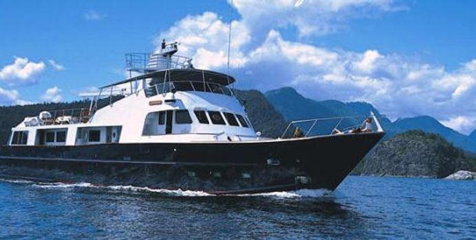 Kayana Yacht Charter in Alaska