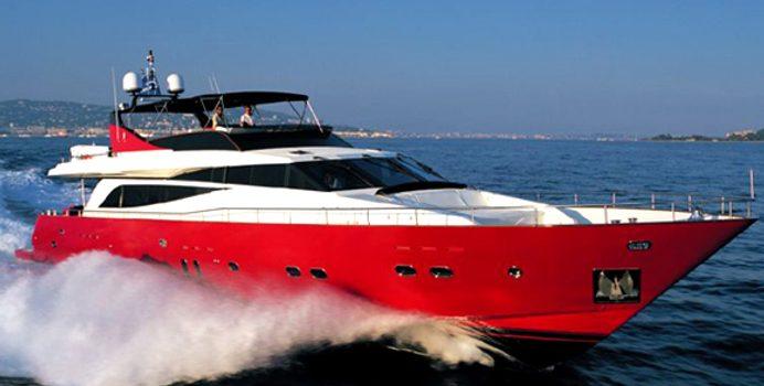 Figi yacht charter Couach Motor Yacht