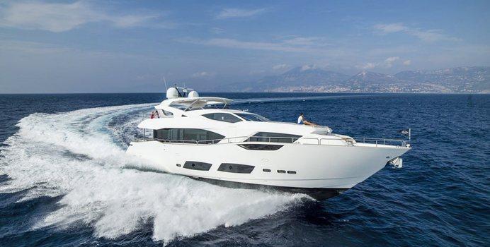 Nitsa yacht charter Sunseeker Motor Yacht