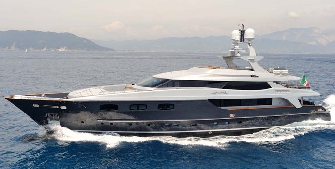 Ira yacht charter Baglietto Motor Yacht