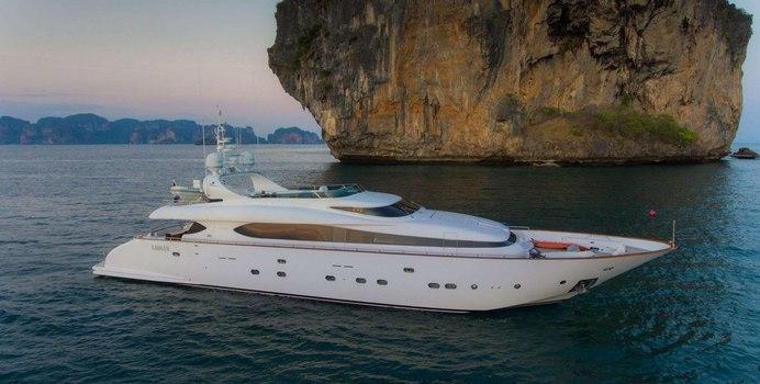 Aveline yacht charter Maiora Motor Yacht
