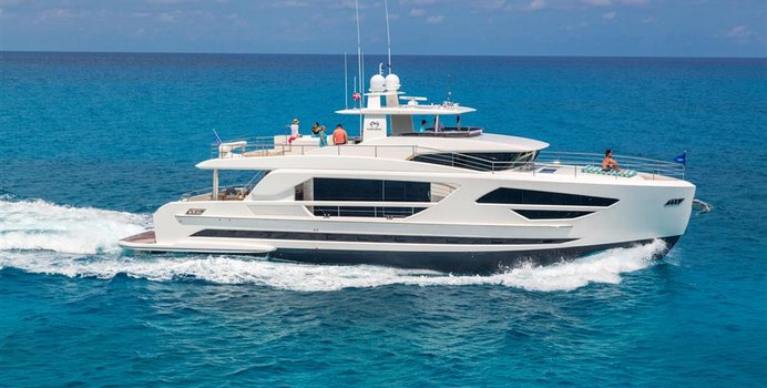 Angeleyes charter yacht exterior designed by Cor D. Rover Design