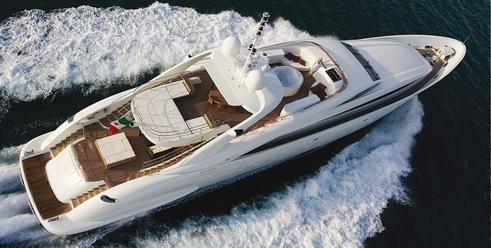 Matsu charter yacht exterior designed by Andrea Vallicelli