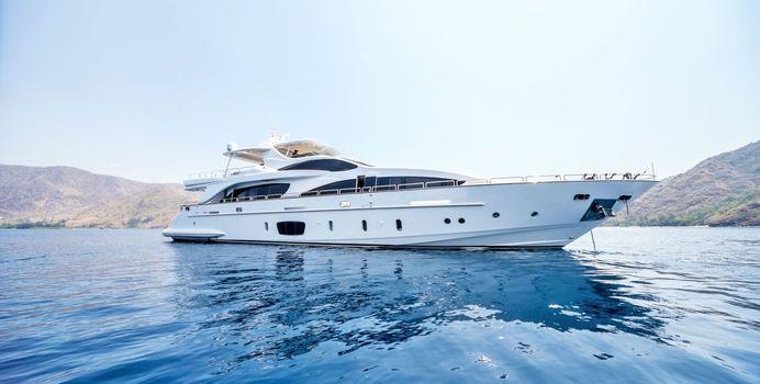 Antonia II Yacht Charter in Indonesia