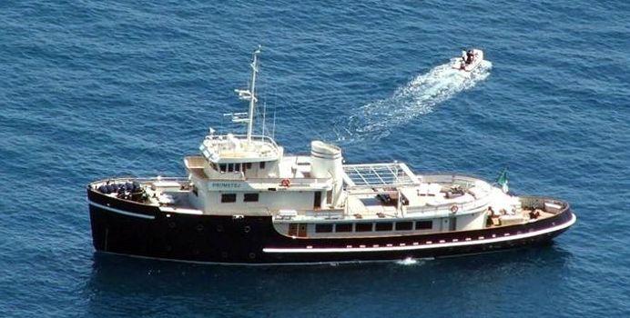 Prometej yacht charter Galatz Cant Santiebul Motor Yacht