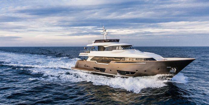 Yvonne yacht charter Custom Line Motor Yacht