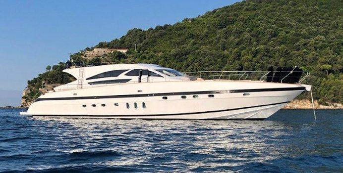 Goldfinger yacht charter Jaguar Yachts Motor Yacht