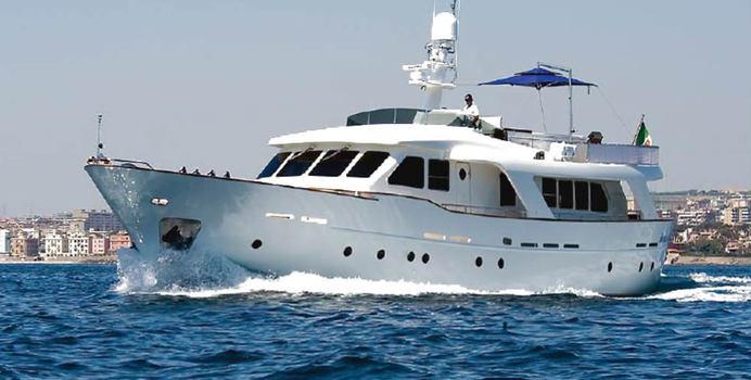 Mr White yacht charter Benetti Sail Division Motor Yacht