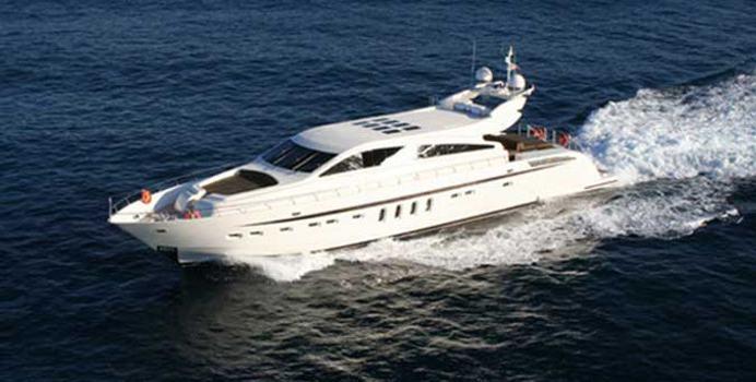 Aleon yacht charter Leopard Motor Yacht