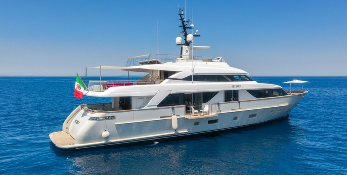 My Way yacht charter Sanlorenzo Motor Yacht
