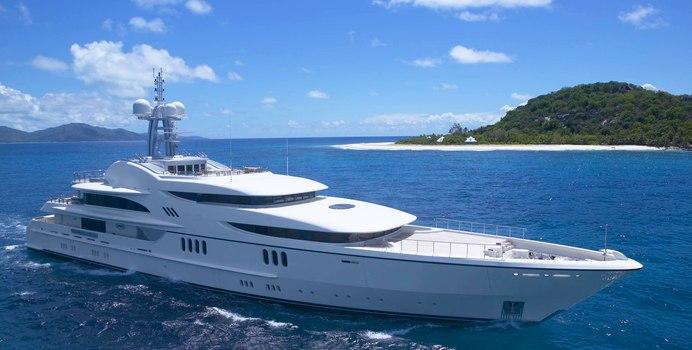 Anna 1 yacht charter Feadship Motor Yacht