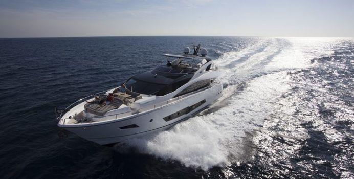 Sam K yacht charter Sunseeker Motor Yacht