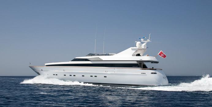 Regina K yacht charter Cantieri di Pisa Motor Yacht