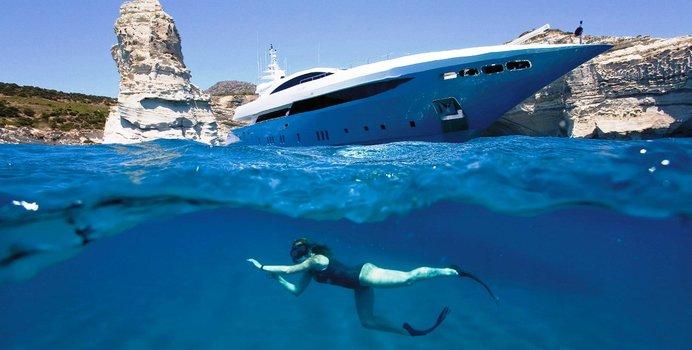 Barents Sea charter yacht exterior designed by Studio Vafiadis