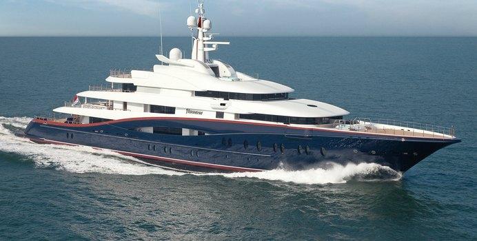 Nirvana yacht charter Oceanco Motor Yacht