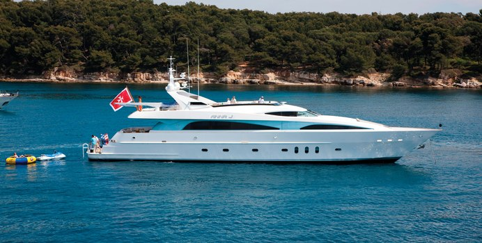Strega yacht charter Palmer Johnson Motor Yacht