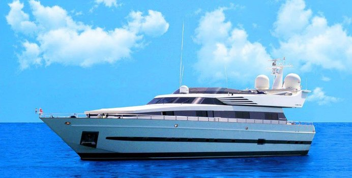 Thirty Love charter yacht exterior designed by Cantieri di Pisa