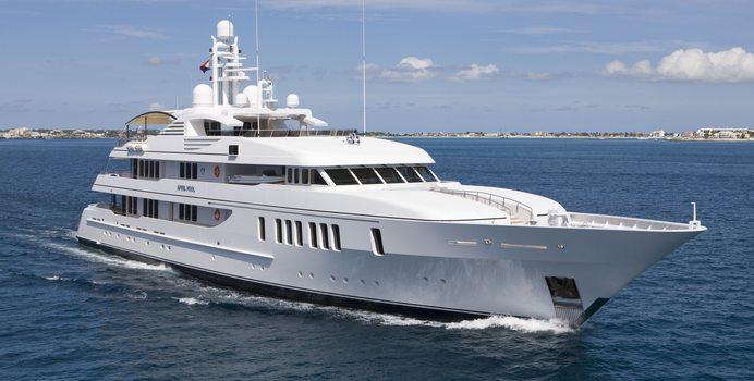 Samadhi yacht charter Feadship Motor Yacht