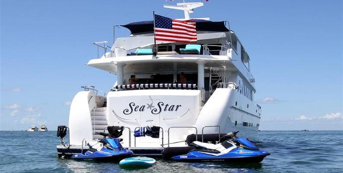 Sea Star yacht charter Hargrave Motor Yacht