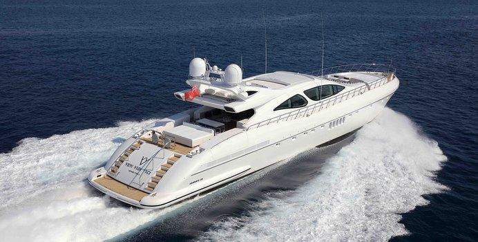 Veni Vidi Vici yacht charter Overmarine Motor Yacht