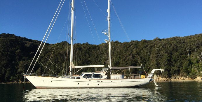 Yonder Star yacht charter Brooke Marine Sail Yacht