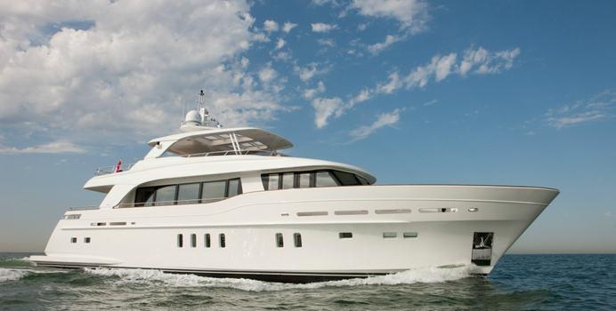 Firefly yacht charter Mulder Shipyard Motor Yacht