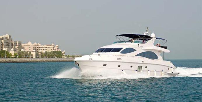 Infinity 1 yacht charter Gulf Craft Motor Yacht