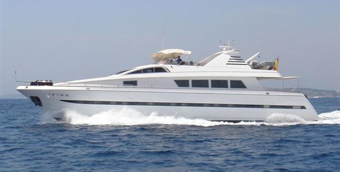 Lady Alhena of London yacht charter Astondoa Motor Yacht