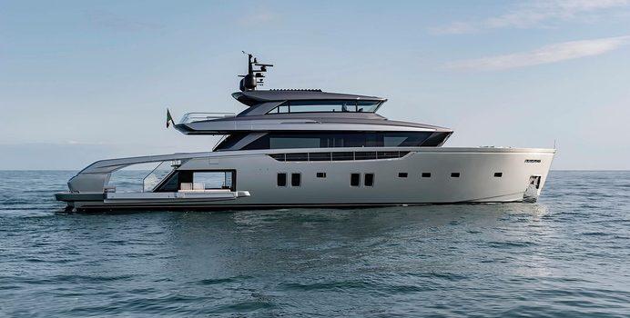 Almax yacht charter Sanlorenzo Motor Yacht