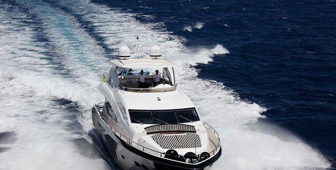 Mello yacht charter Sunseeker Motor Yacht
