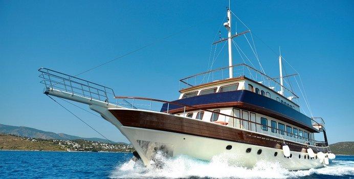 B&B 2 yacht charter Bodrum Shipyard Motor Yacht