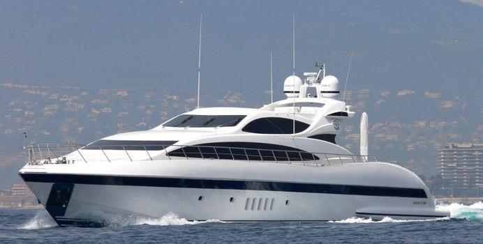 Serenada yacht charter Overmarine Motor Yacht